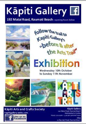 2018-10 ka&cs poster kapiti arts trail