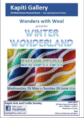 2016-05-25 Winter Wonderland Exhibition poster