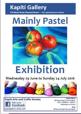 2016-06 KA&CS Poster - Mainly Pastel