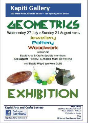 2016-07-27 KA&CS Geometrics Exhibition POSTER
