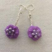 Earrings - Purple Promise